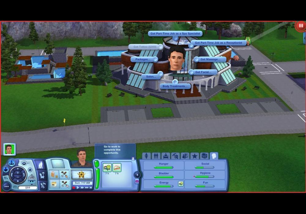 The Sims 3 Horské Lázně 2145