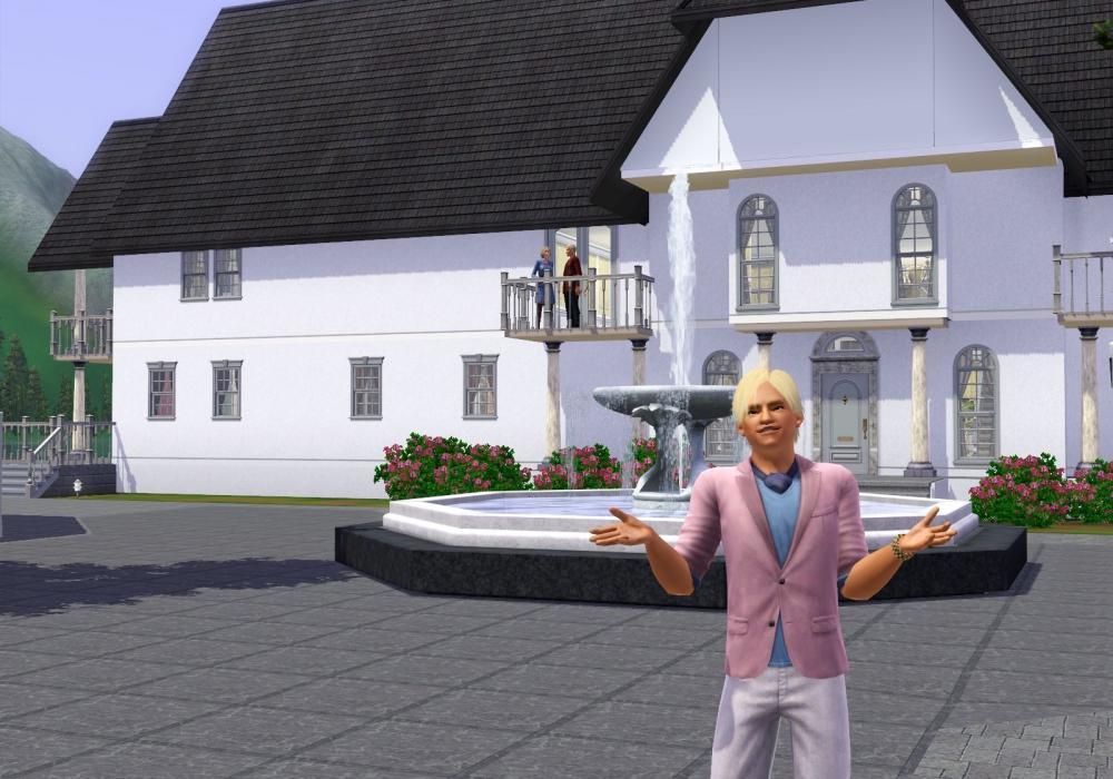 The Sims 3 Horské Lázně 378