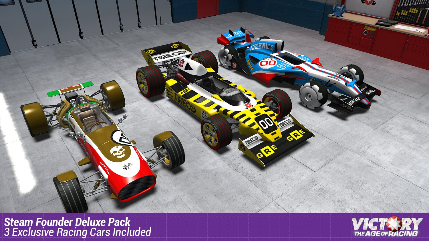 Victory The Age of Racing Steam Founder Pack 16