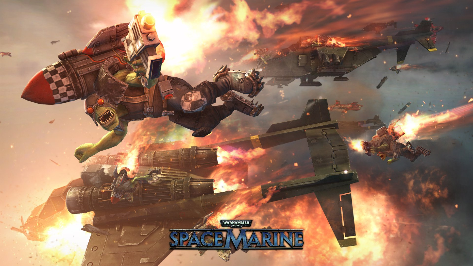 Warhammer 40,000 Space Marine 1