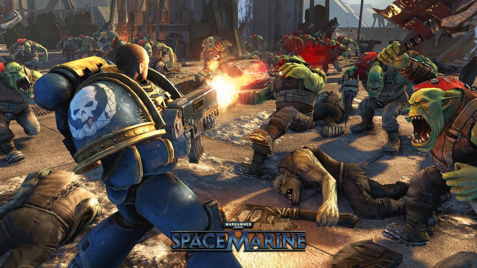 Warhammer 40,000 Space Marine 2