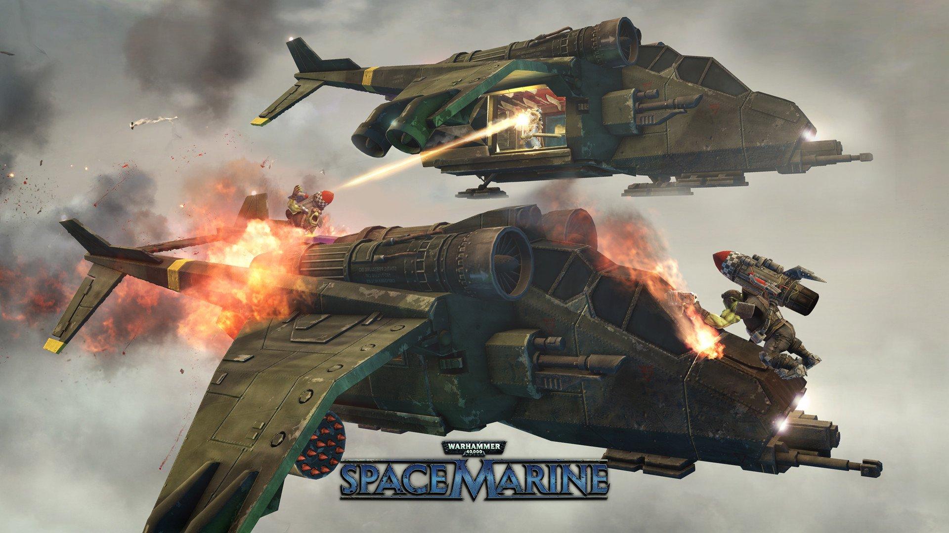 Warhammer 40,000 Space Marine 3