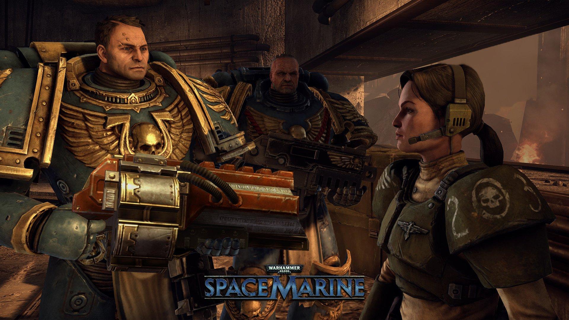 Warhammer 40,000 Space Marine 4