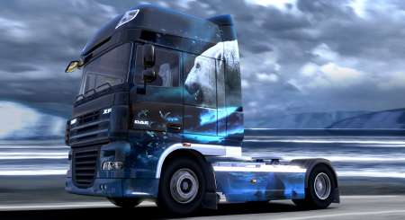 Euro Truck Simulátor 2 Ice Cold Paint Jobs Pack 5