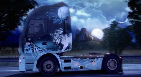 Euro Truck Simulátor 2 Ice Cold Paint Jobs Pack 6