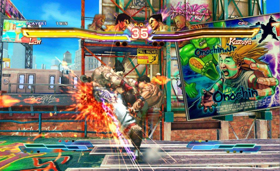 Street Fighter X Tekken 15