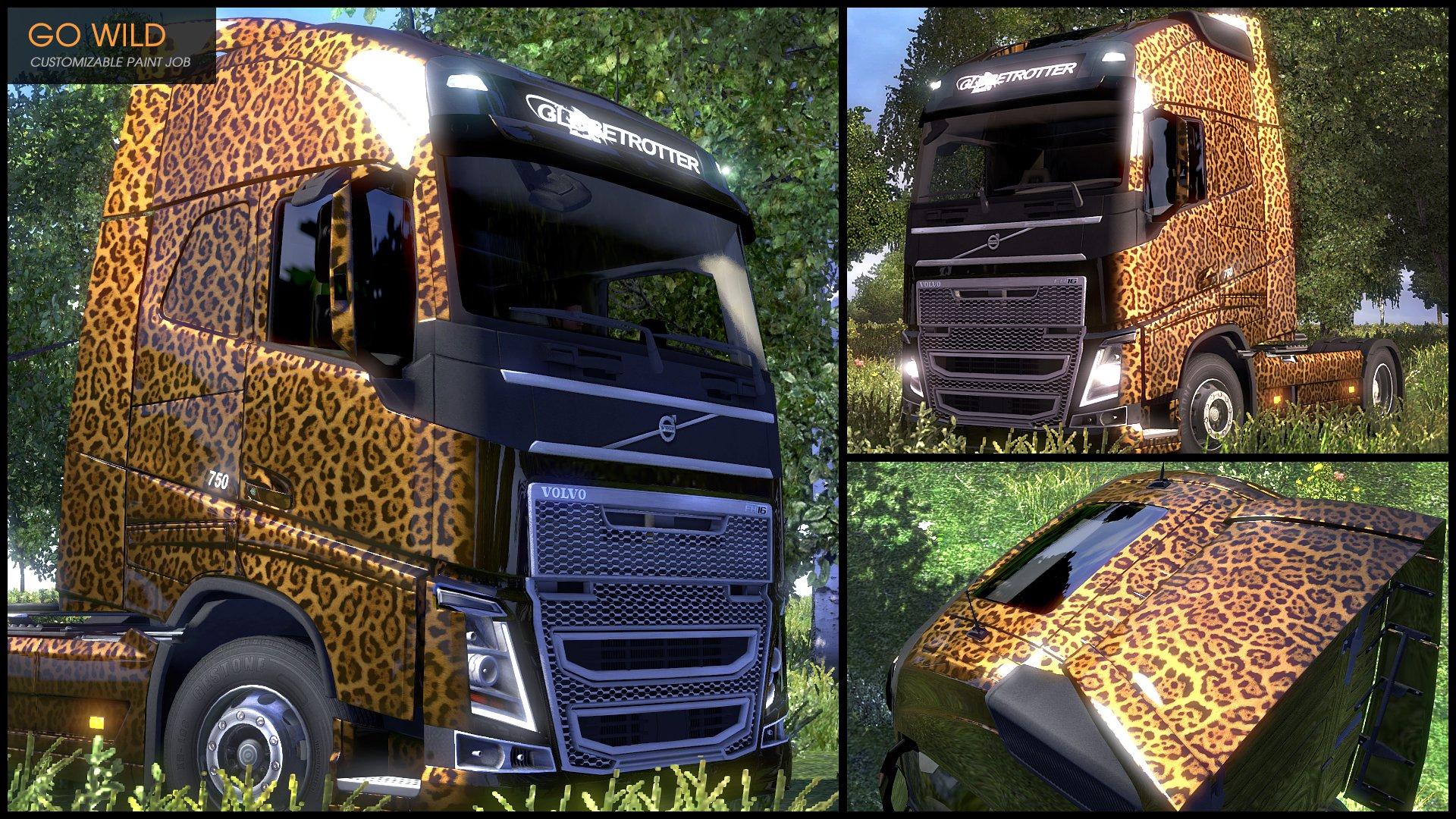Euro Truck Simulátor 2 Flip Paint Designs 6