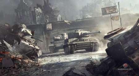 World of Tanks 1250 Gold + Jagdtiger tank + 7 Days Premium 4
