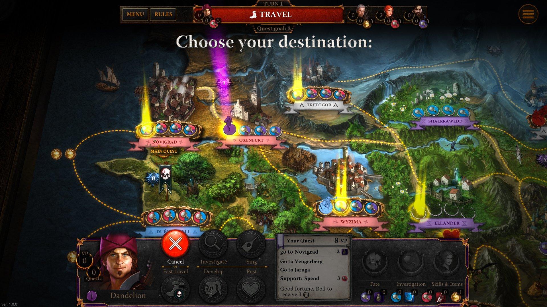 Zaklínač, The Witcher Adventure Game 10