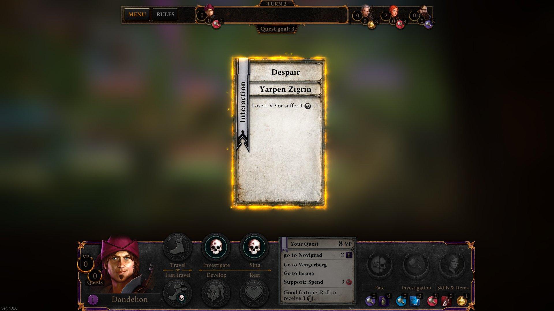 Zaklínač, The Witcher Adventure Game 12