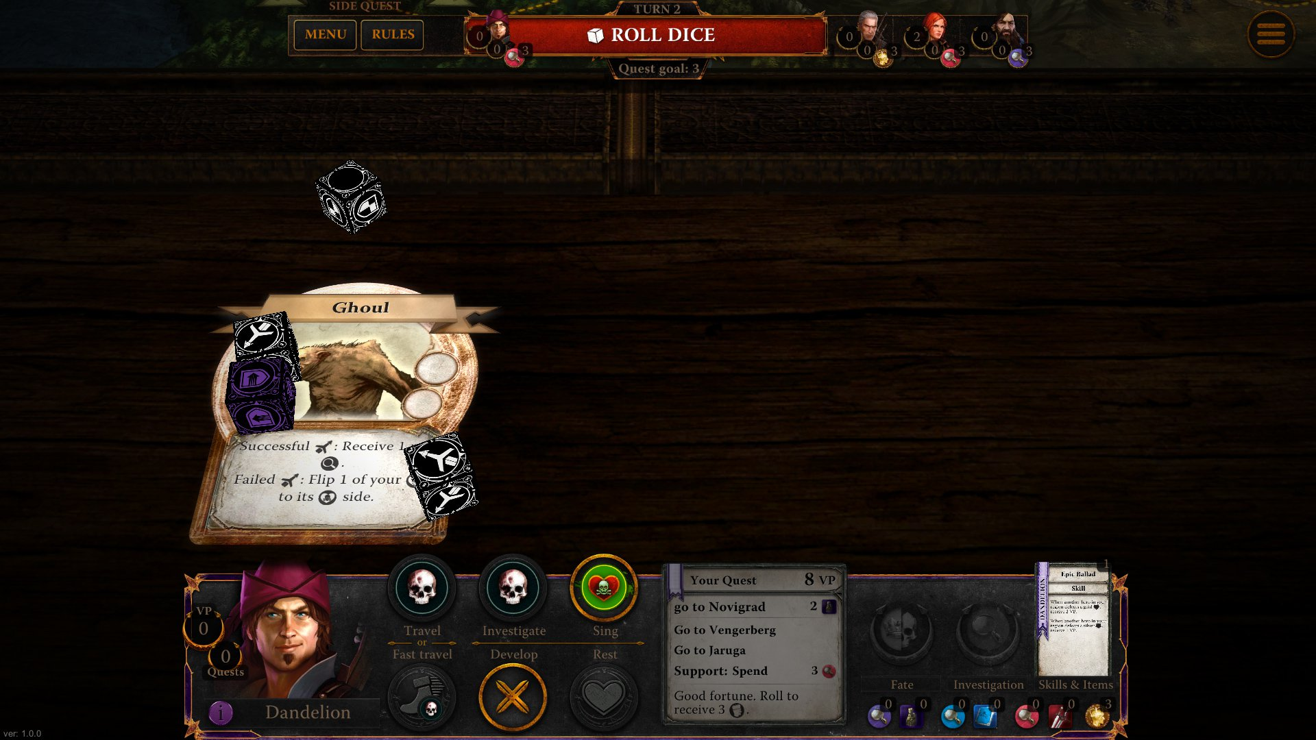 Zaklínač, The Witcher Adventure Game 14