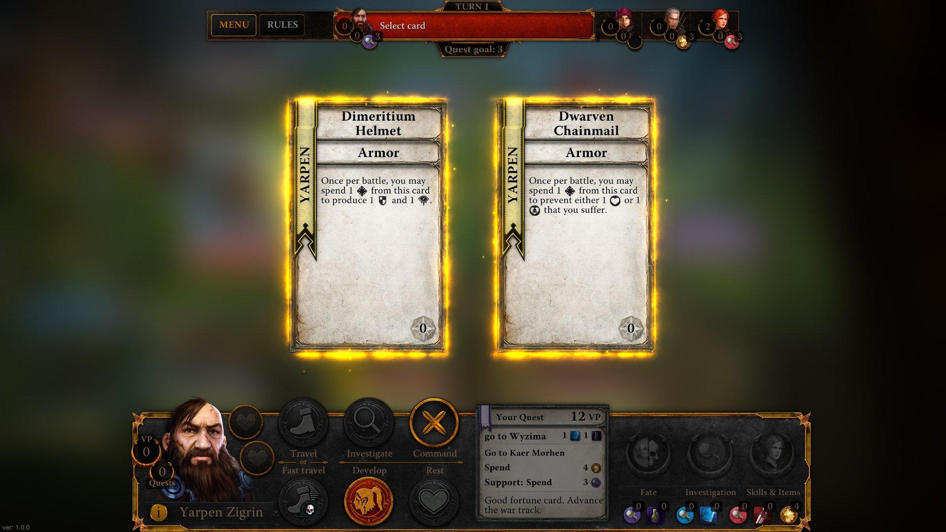 Zaklínač, The Witcher Adventure Game 16