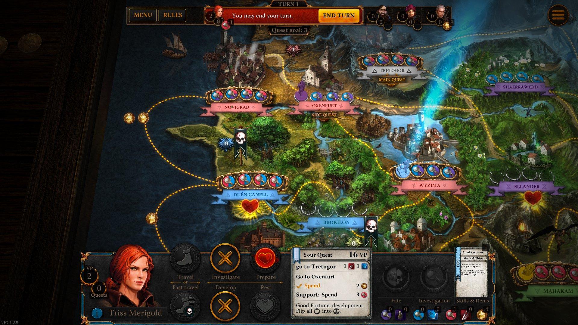 Zaklínač, The Witcher Adventure Game 6