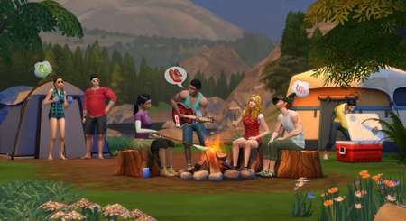 The Sims 4 Únik do přírody 3