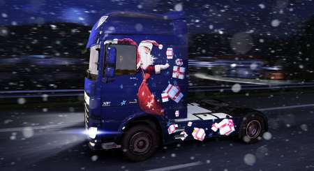 Euro Truck Simulátor 2 Christmas Paint Jobs Pack 1