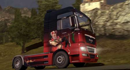 Euro Truck Simulátor 2 Christmas Paint Jobs Pack 2