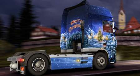 Euro Truck Simulátor 2 Christmas Paint Jobs Pack 3