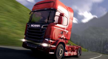 Euro Truck Simulátor 2 Christmas Paint Jobs Pack 4