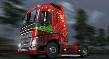 Euro Truck Simulátor 2 Christmas Paint Jobs Pack 5