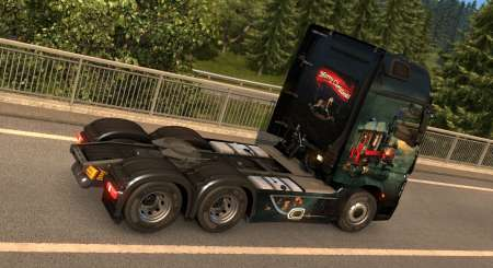 Euro Truck Simulátor 2 Christmas Paint Jobs Pack 8