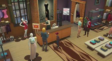 The Sims 4 Hurá do Práce 1