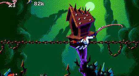 Earthworm Jim 1+2 The Whole Can 'O Worms 2