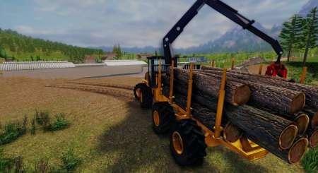 Dřevorubec 3 Profesionální dřevorubec 1
