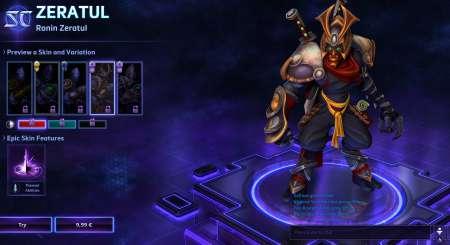 Ronin Zeratul Heroes of the Storm 1