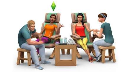 The Sims 4 Návštěva v Lázních 1