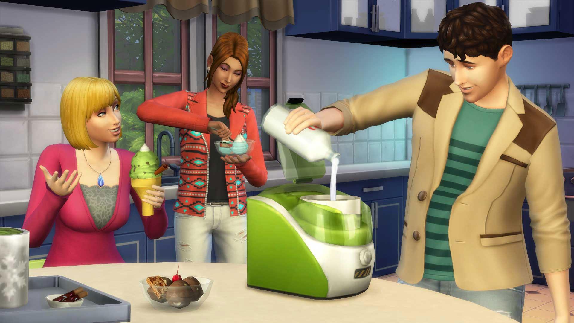The Sims 4 Báječná kuchyně 3
