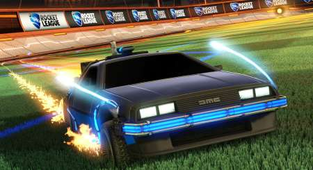 Rocket League Back to the Future Car Pack 1