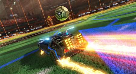 Rocket League Back to the Future Car Pack 2