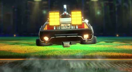 Rocket League Back to the Future Car Pack 4