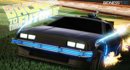 Rocket League Back to the Future Car Pack 5