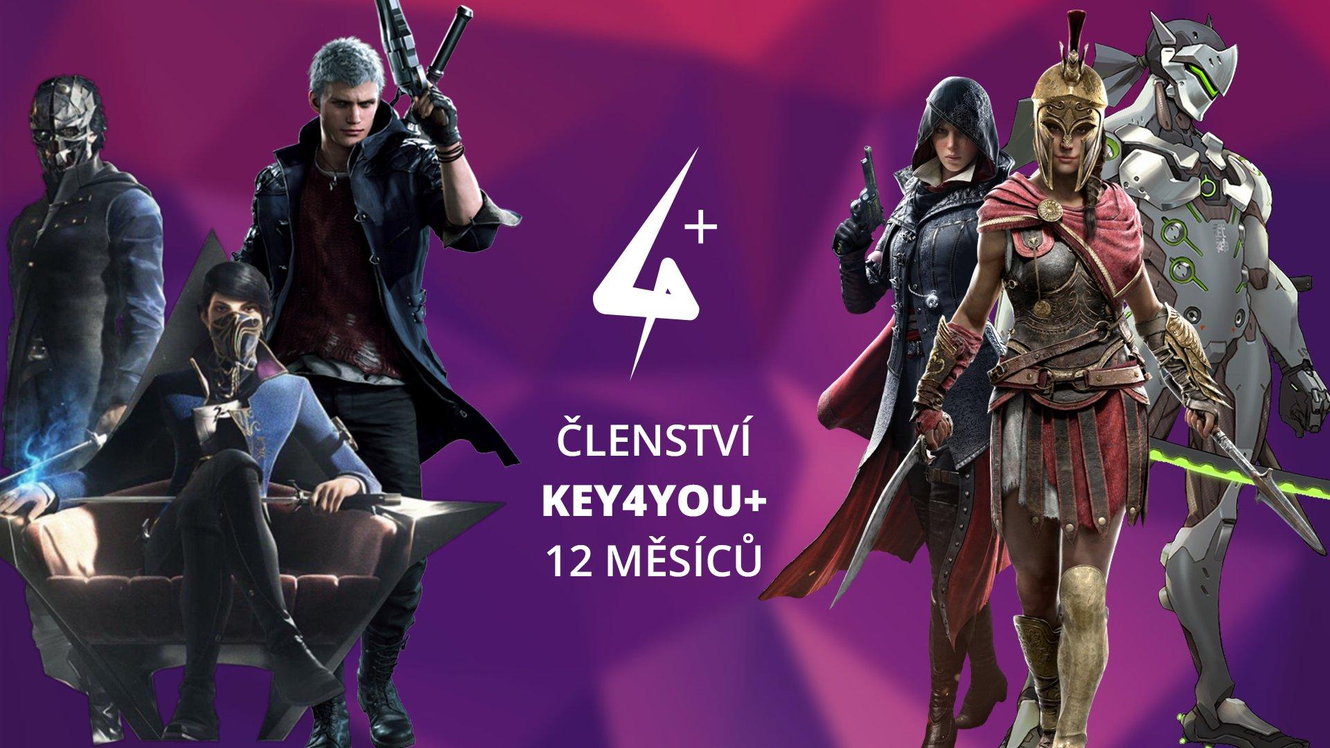 Key4You+ Členství (12 měsíců) 1