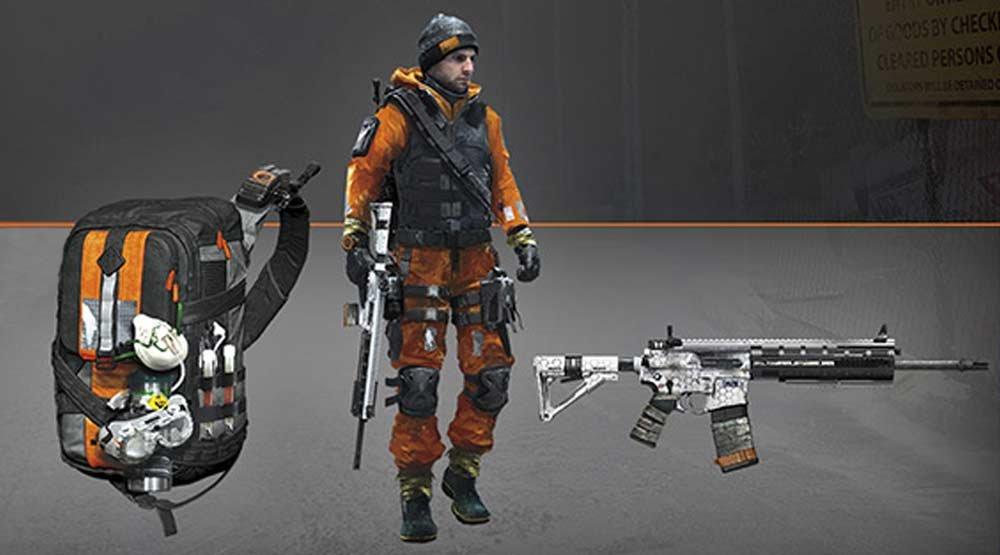 Tom Clancys The Division Hazmat gear set 2