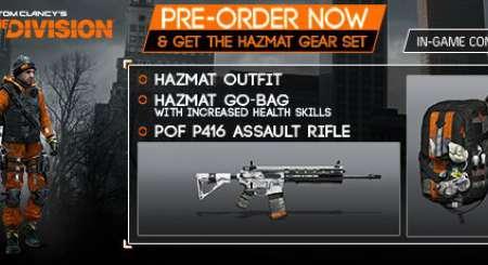 Tom Clancys The Division Hazmat gear set 3