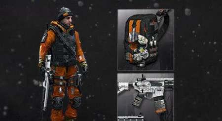 Tom Clancys The Division Hazmat gear set 4