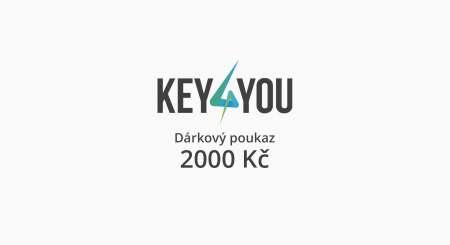 Dárkový poukaz v hodnotě 2000,- CZK 2
