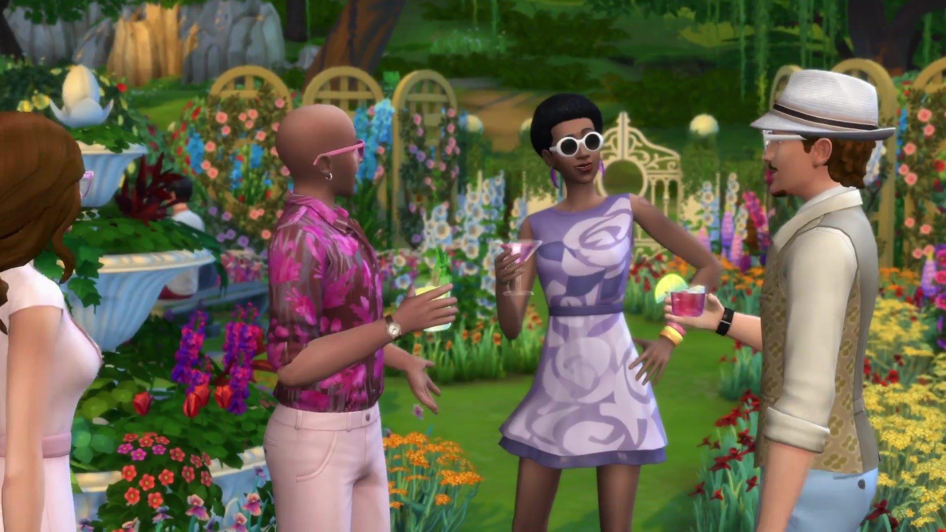 The Sims 4 Romantická zahrada 3