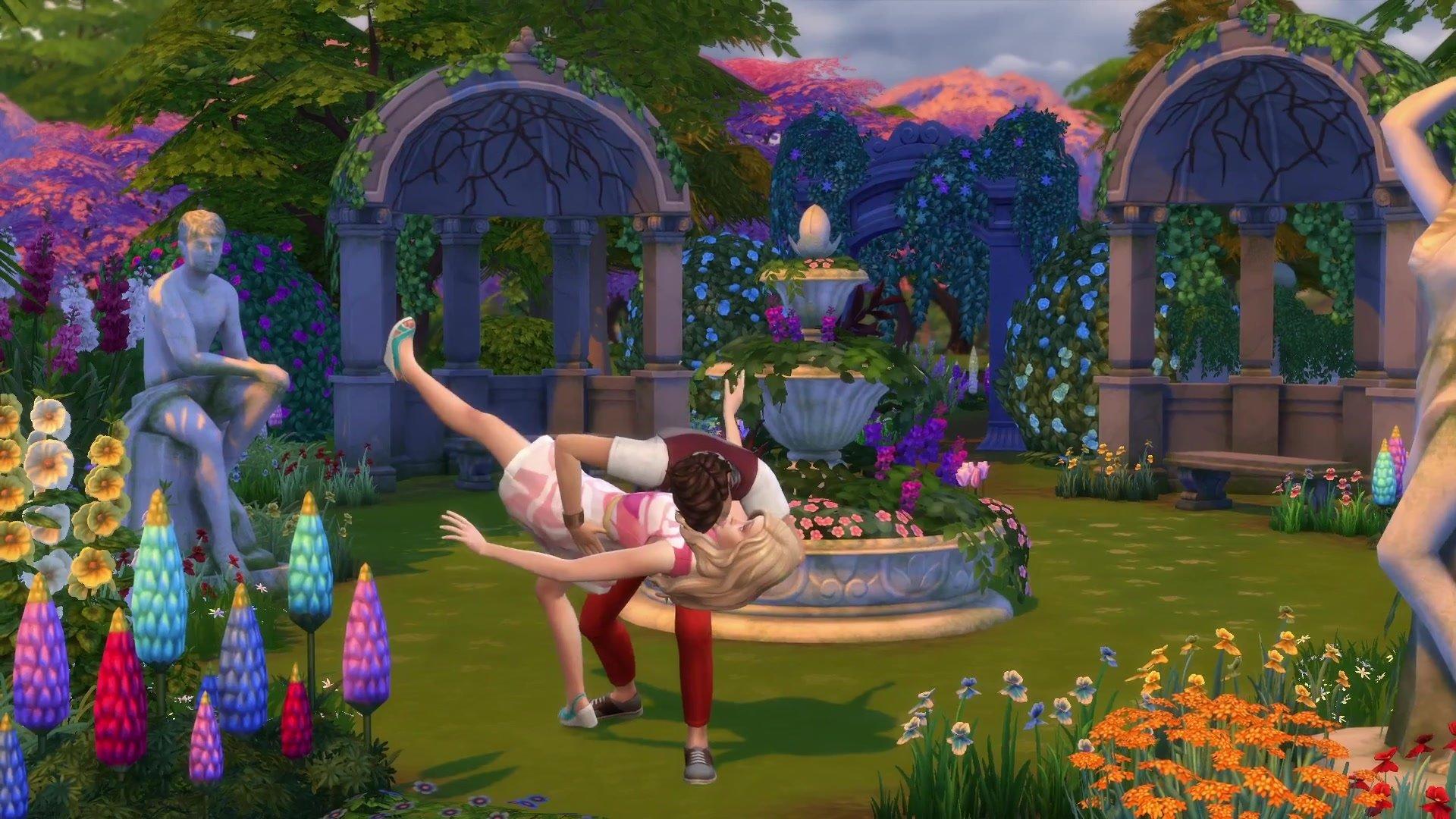 The Sims 4 Romantická zahrada 4