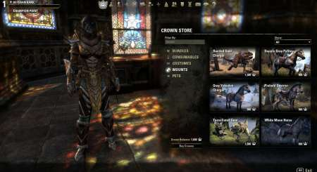 Elder Scrolls Online Tamriel Unlimited 3000 Crown Pack 1