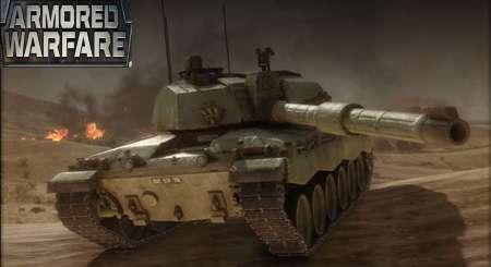 Armored Warfare Chieftain Mk. 6 Tank + 30 day Premium + 2500 Gold 2