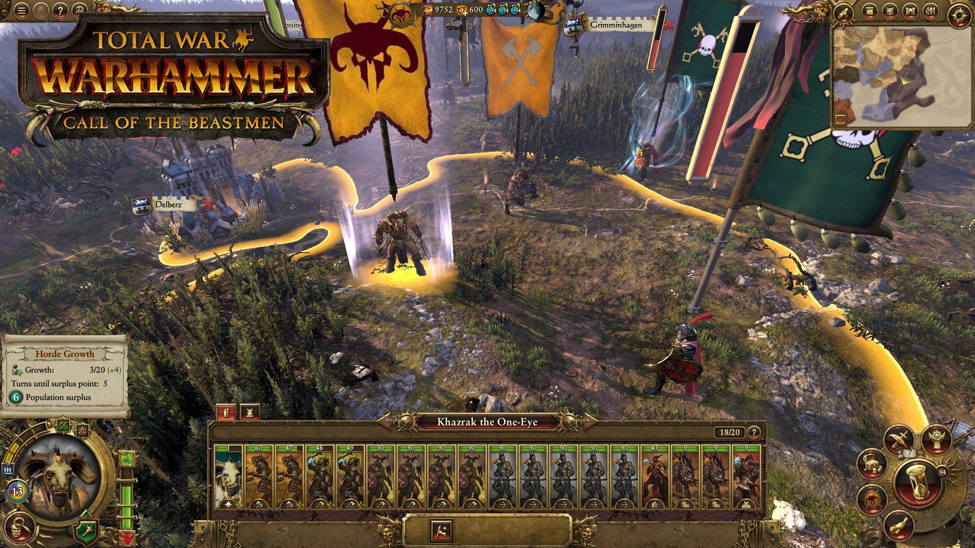 Total War WARHAMMER Call of the Beastmen DLC 8