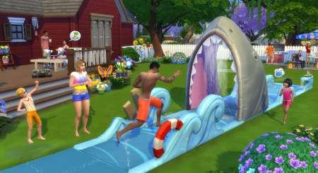 The Sims 4 Zahrada za domem 1