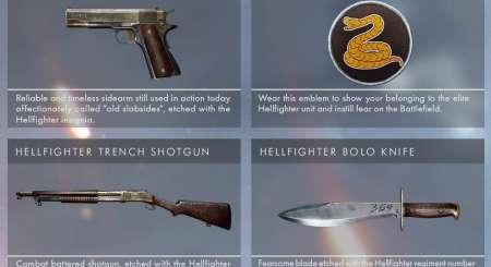 Battlefield 1 Hellfighter Pack DLC 1