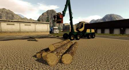 Dřevorubecký Simulátor 2017 1