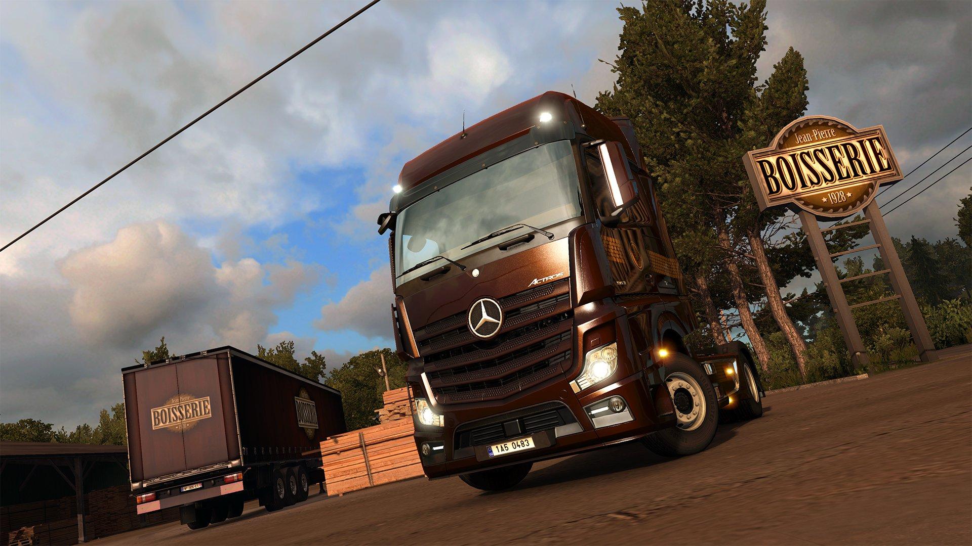 Euro Truck Simulátor 2 Vive la France ! 6