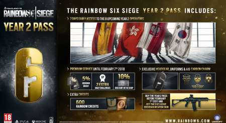 Tom Clancys Rainbow Six Siege Season Pass Year 2 1