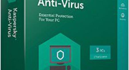 Kaspersky AntiVirus 2017, 3 lic. 1 rok 3